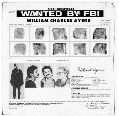 FBI's efterlysning af FBI på Bill Ayers