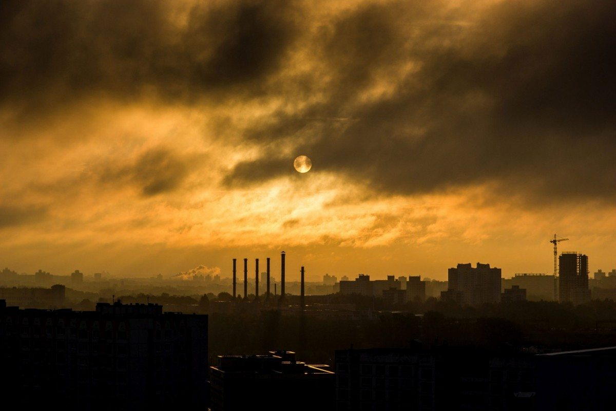 Photo by Anton Rusetsky on Unsplash. Sun Clouds at Sunset in Минск, Minsk, Belarus