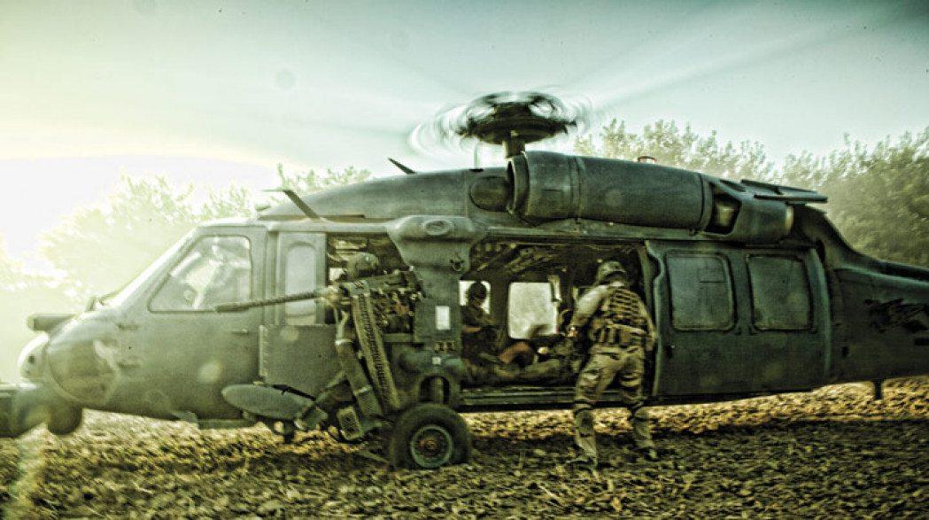 Helicopter scene fra filmen