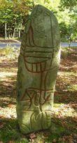 """Den såkaldte """"syndikalist-sten"""" i Sejs ved Silkeborg"""