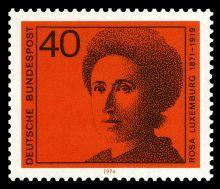 Vest-tysk frimærke