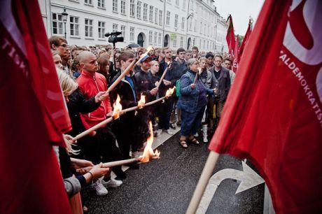 Fra dansk mindearrangement efter terrorangrebet i Norge. Foto: Mette Kramer Kristensen