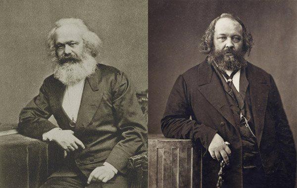 Marx og Bakunin