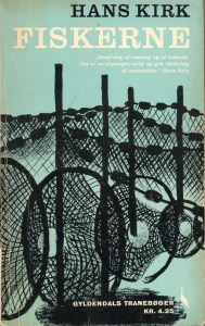 Billigbogsudgave fra 1962 af Fiskerne med omslag af Sikker Hansen