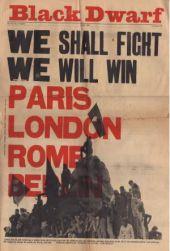 68-slogan fra forsiden af tidsskriftet Black Dwarf