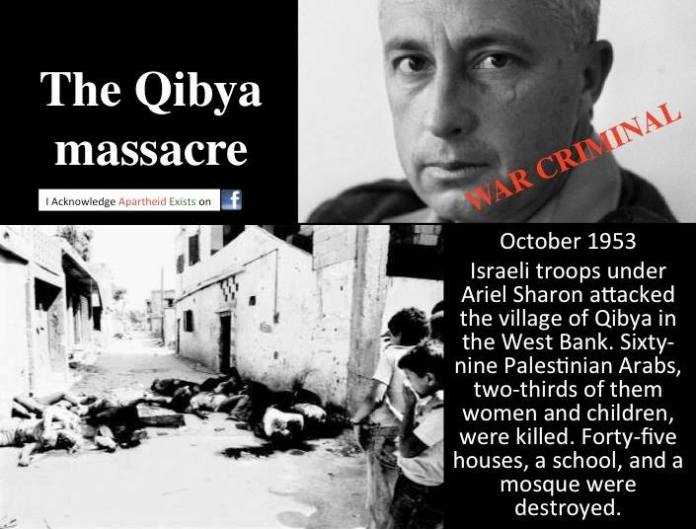 Ariel Sharon and the Qibya massacre