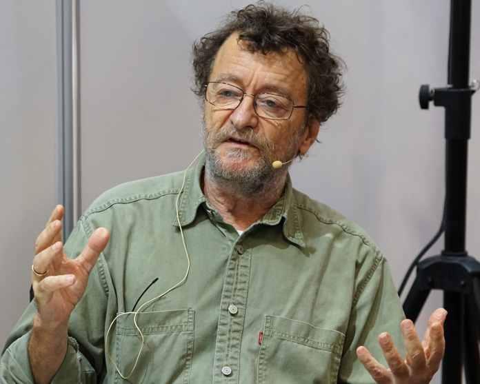 Morten Thing - dansk forfatter, kulturhistoriker og forskningsbibliotekar under Bogforum 2015 i København - photo: Mogens Engelund