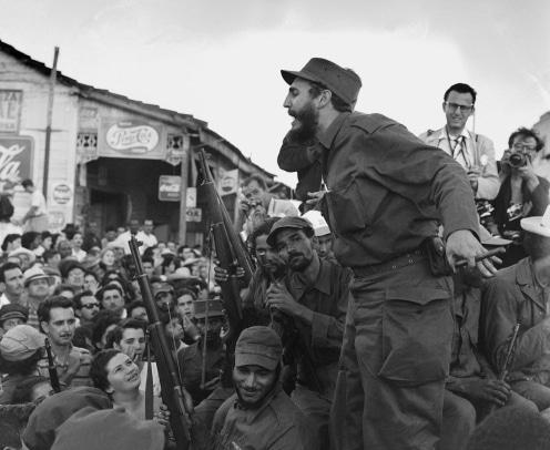 """24.januar 1959 / Fidel Castro under sin ""March mod Havanna"" (Marxisme.dk)."