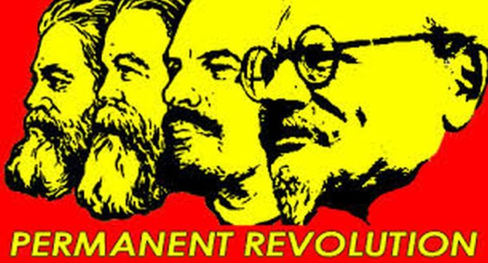 Den afbøjede permanente revolution