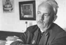 Carl Heinrich Petersen, som en del viborgensere stadig husker ham. Privatfoto. Kilde: https://viborg-folkeblad.dk/viborg/Middag-i-Carl-Heinrichs-aand/artikel/26499