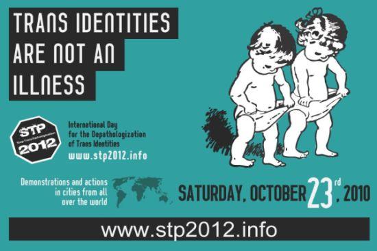 Plakat fra international demodag 2012