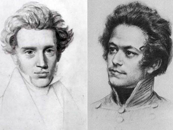 Historieproblemet hos Kierkegaard og den unge Marx