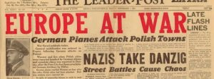 Avisforside: Tyskland angriber Polen.