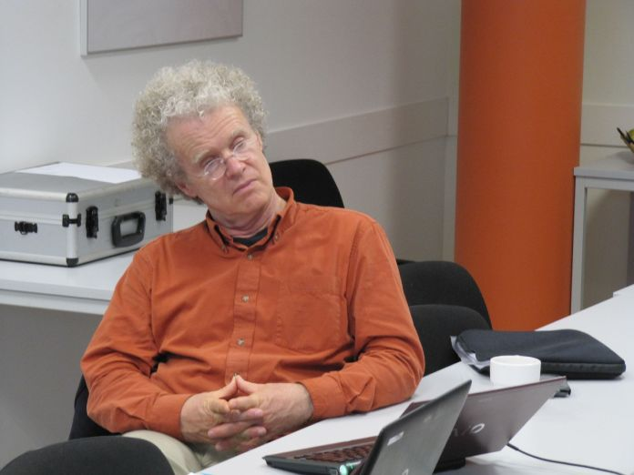 Rosa Luxemburg Foundation seminar with sociologist Erik Olin Wright, in Berlin. 17 May 2011, Source https://www.flickr.com/photos/rosalux/7089921779/ Photo: Rosa Luxemburg-Stiftung. (CC BY 2.0) Se nedenfor 19. januar 2019