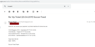 soccer fixed matches
