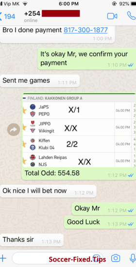 buy finland fixed matches