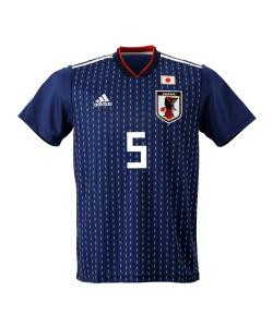 サッカー日本代表 サムライブルー 背番号「5」