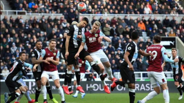 Newcastle Cannot Find Way Past Burnley