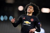 epa08290511 Manchester United's Tahith Chong reacts during the UEFA Europa League round of 16, first leg soccer match between LASK Linz and Manchester United in Linz, Austria, 12 March 2020. EPA-EFE/CHRISTIAN BRUNA