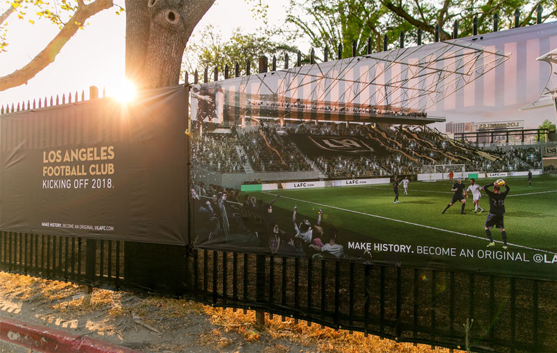 Lafc Break Ground On Banc Of California Stadium  Soccer365