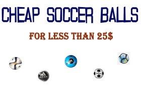 cheap soccer balls