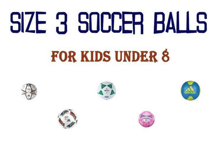 size 3 soccer balls