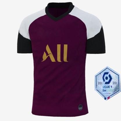 Maillot PSG Jersey 2021 Champion psg Soccer Jersey MBAPPE ICARDI GANA VERRATTI 20 21 Football Shirt Men Kids Kit maillot de foot