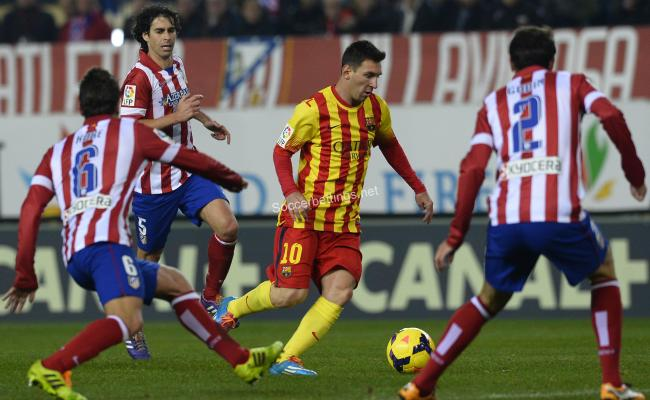 Atletico Madrid Barcelona Prediction 01 02 2017