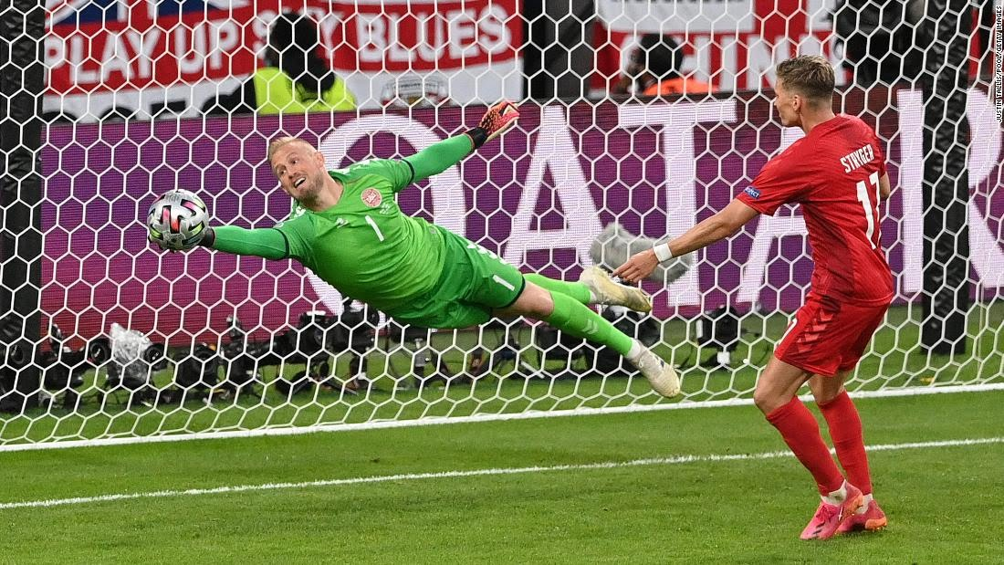England reaches first major final since 1966 after tense Euro 2020 victory over Denmark