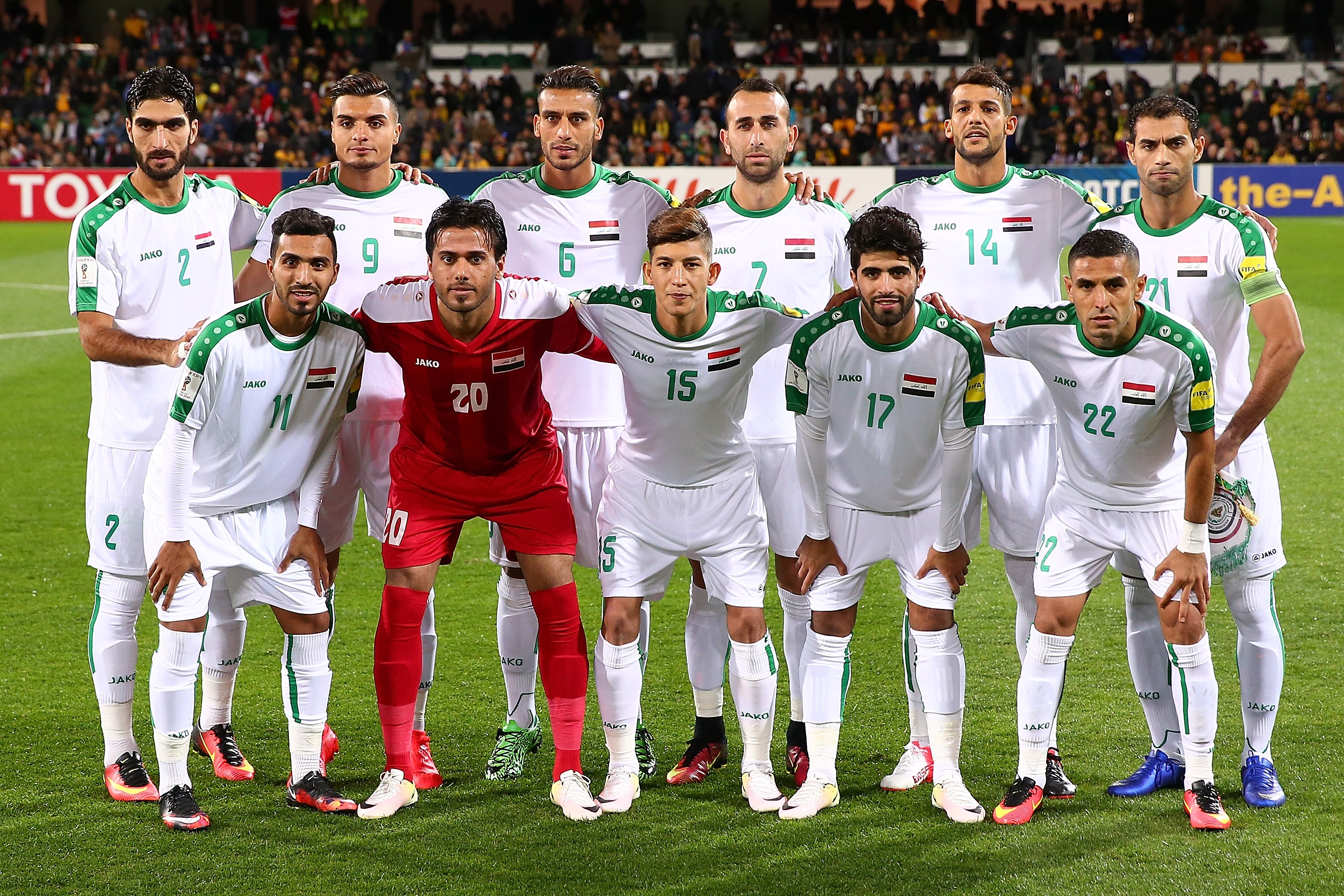 Iraq announce provisional squad for World Cup Qualifiers