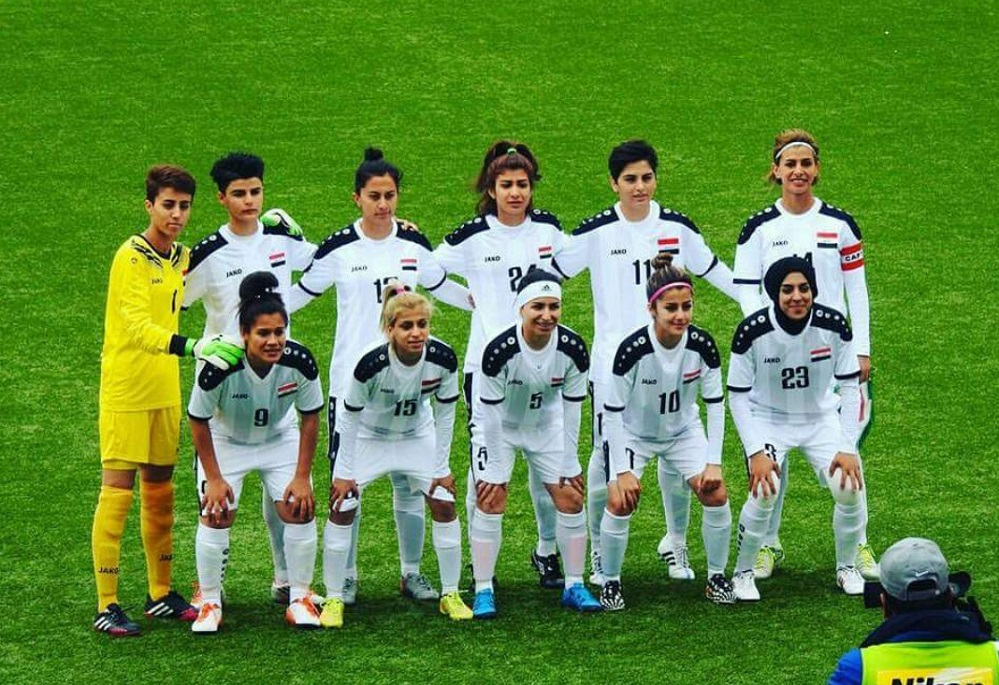 Meet Naba Ameer: Iraq's youngest female player