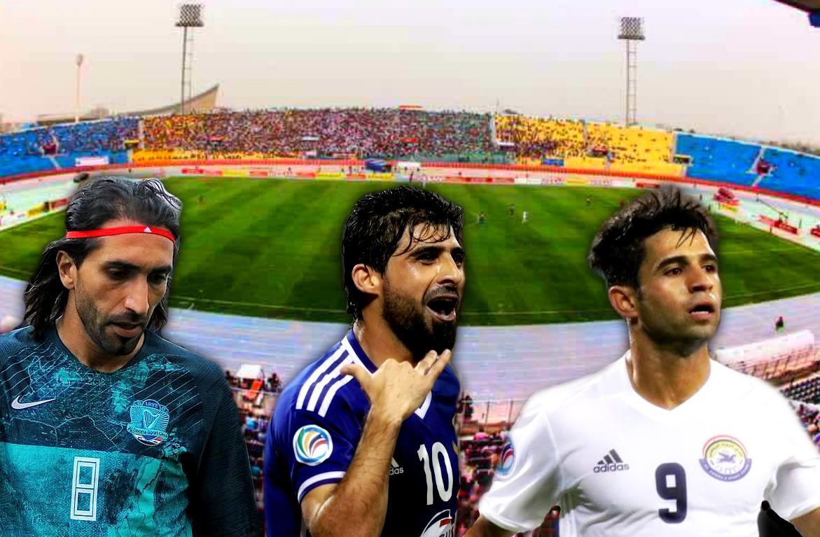 The best XI from the last three Iraqi League champions