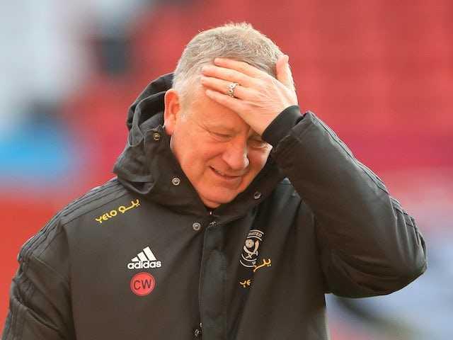 Chris Wilder 'does not fear' losing job as Sheffield United boss