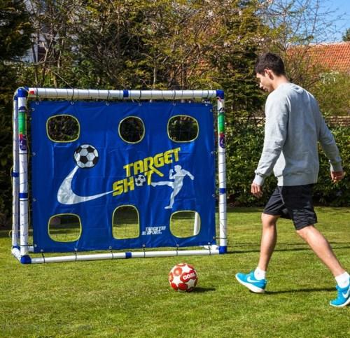 target sport fodboldmål 183x153cm