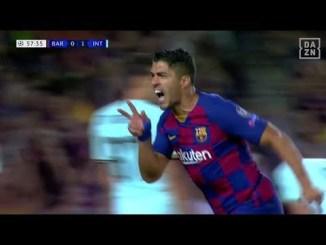 uefacl 2 - UEFACL予選リーグ バルセロナはスアレスの2ゴールによりインテルを下す
