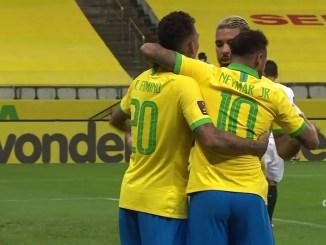 14493 - ネイマール、コウチーニョらの活躍によりブラジル代表は2022カタールワールドカップ南米予選快勝スタート
