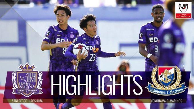 j2021 df - Jリーグ2021ルヴァン杯 サンフレッチェ広島DF藤井智也のアシストによりドロー決着