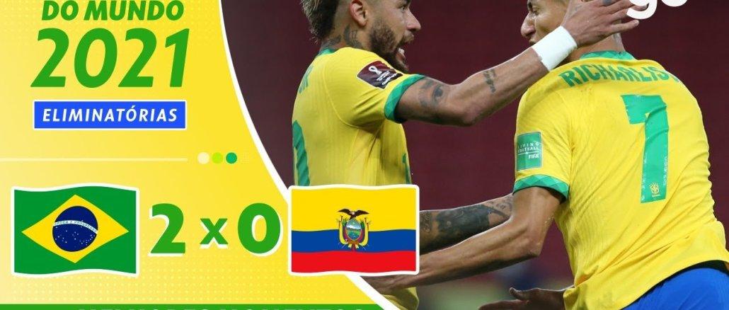2020fw - 2020南米予選FWリシャルリソン、ネイマールのゴールによりブラジル代表はエクアドル代表にホームで快勝