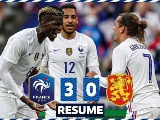 2021 1 - 国際親善試合2021グリーズマンのバイシクルシュートが決まりフランス代表はブルガリア代表に快勝
