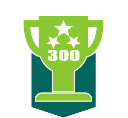 Trophy icon for the 300 soccer drill collection