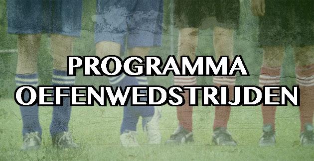 Programma-Oefenwedstrijden