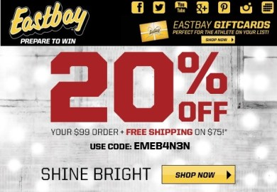 Eastbay Coupon Codes Eastbay Coupons Official
