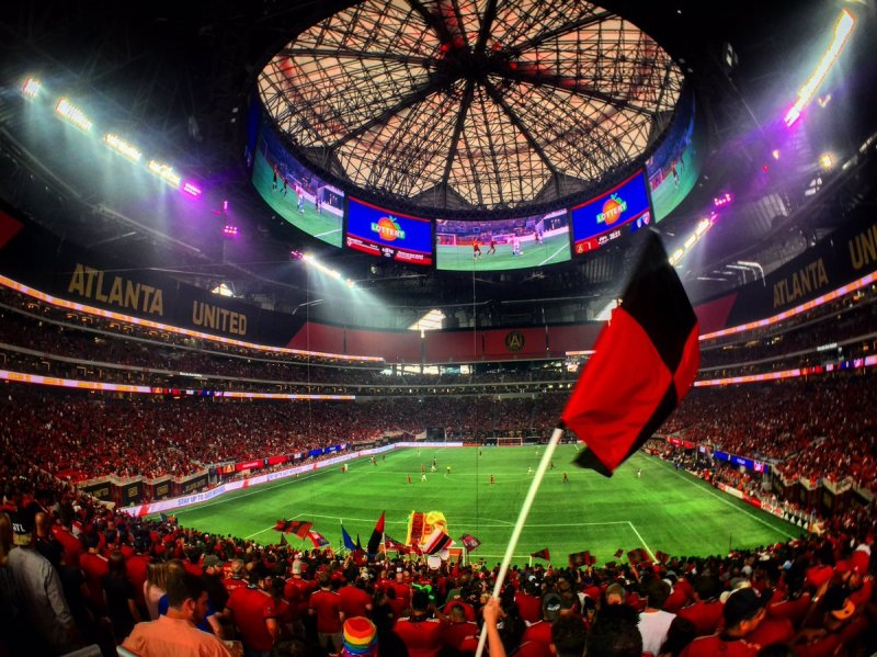 Image result for atlanta united audience