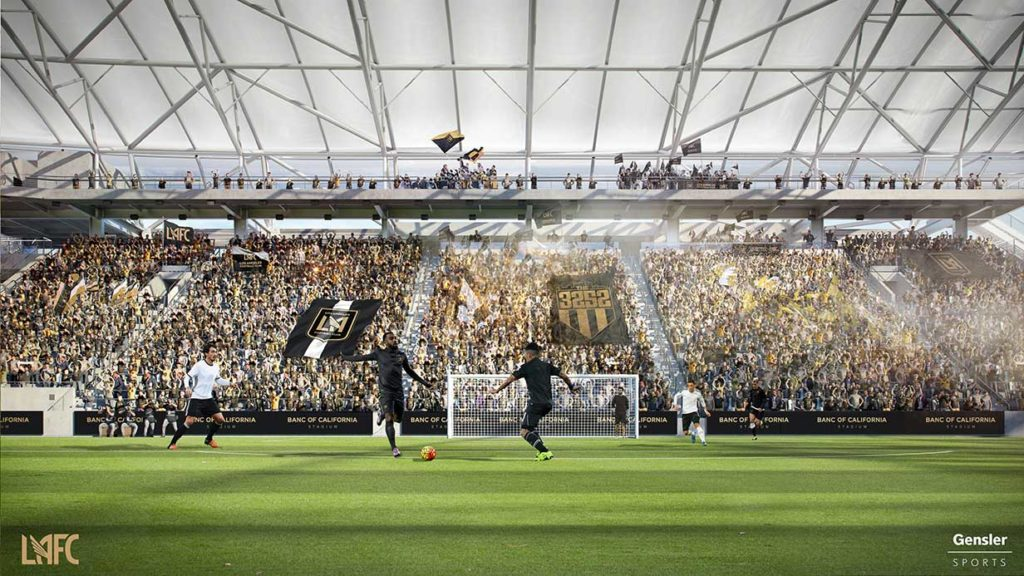 Banc Of California Stadium To Open In April 2018 Soccer