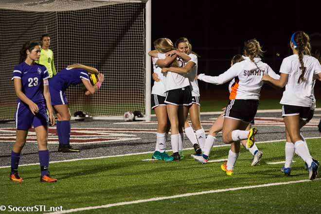 Summit Wins 11 Goal Match on Freshman's OT Deflection