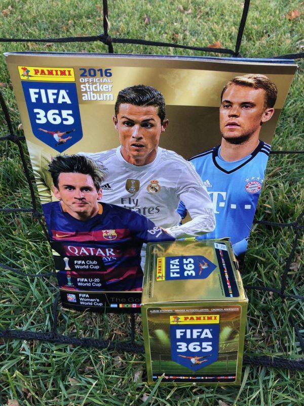 Fifa 365 Album and 50 Pack