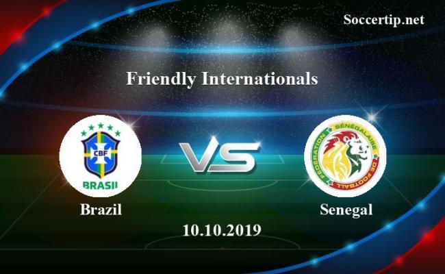 Brazil Vs Senegal Prediction Betting Tips 10 10 2019
