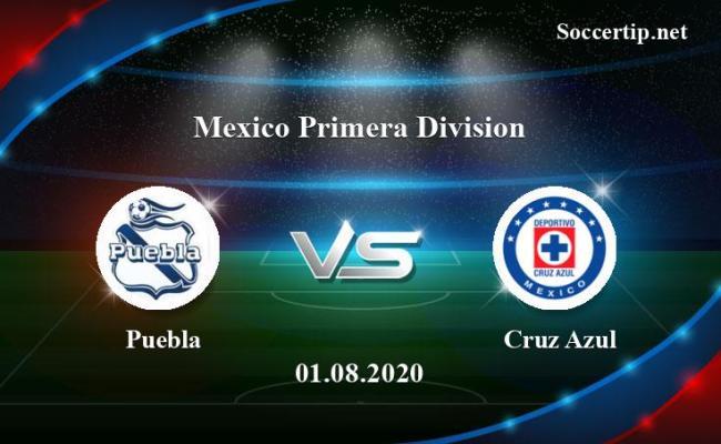 Puebla Vs Cruz Azul Prediction Betting Tips 01 08 2020