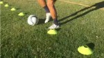 Cone Soccer Dribbling Drill