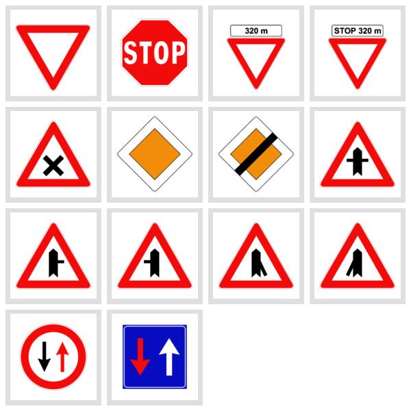 Precedenza su strada: segnali e regole